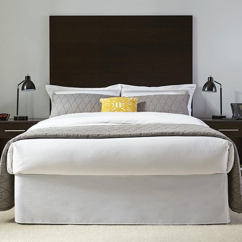 lang sleek hotel furniture Wood Panel Headboard