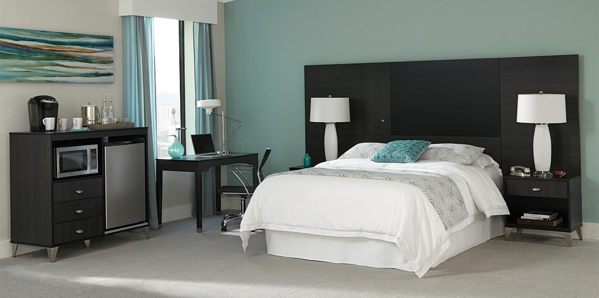 lang bold contemporary hotel furniture Geneva