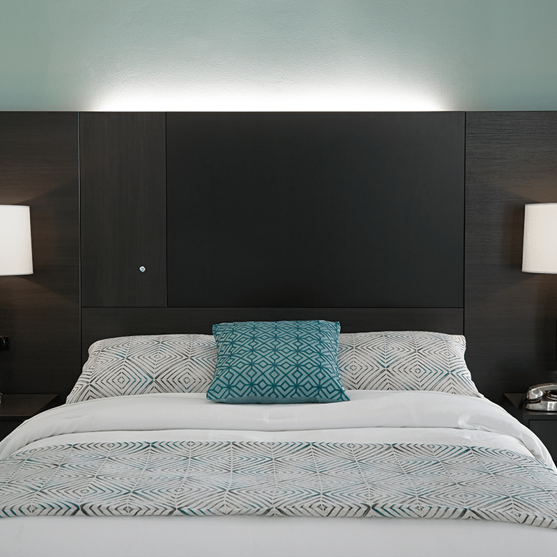 lang bold contemporary hotel furniture Headboard