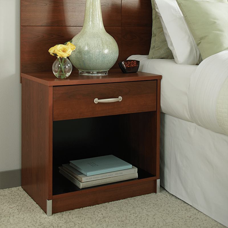 EARTH Single Drawer Nightstand Traditions Cherry