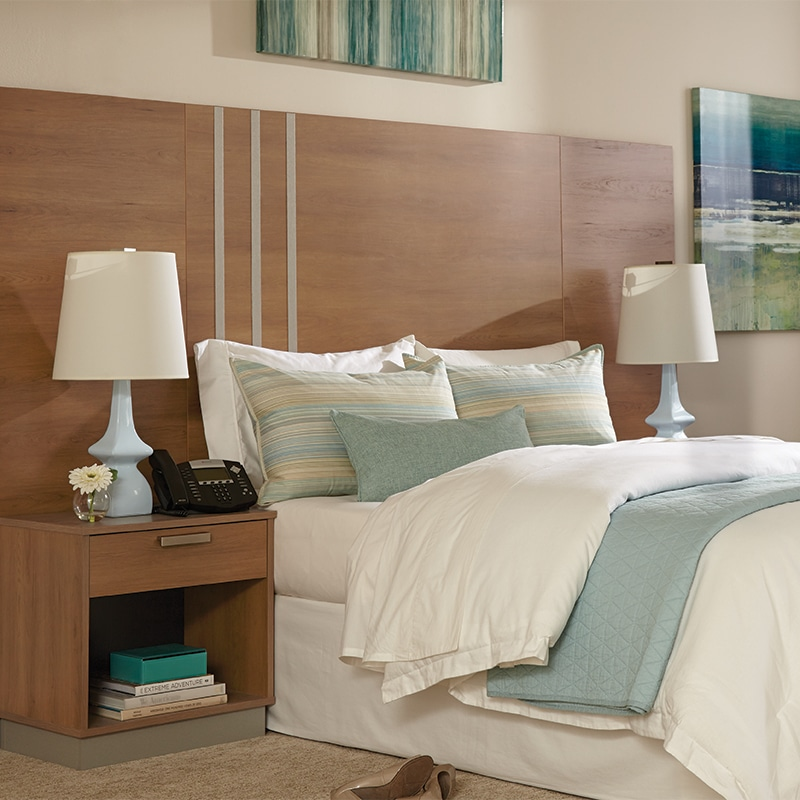 lang transitional hotel furniture Marine - Cherry