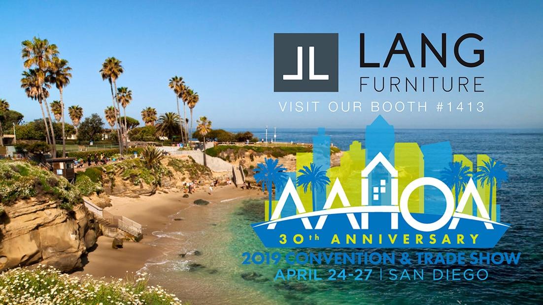 Lang Furniture AAHOA Trade Show