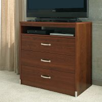 3-Drawer Chest with Shelf - Traditions Cherry