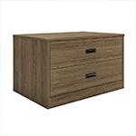 Badger Collection 2-Drawer Storage Walnut