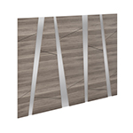 Edison Puzzle Panel Headboard - Salt Oak