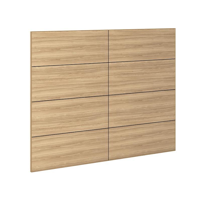 ABBOT 4-Panel Headboard - Fawn Cypress